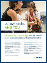Responsible Pet Ownership poster